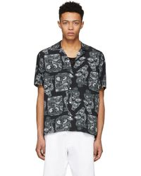 Saturdays NYC - Black Canty Pendant Shirt - Lyst