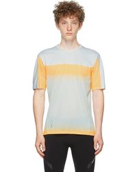 Soar Running Grey & Hot Weather T-shirt - Orange