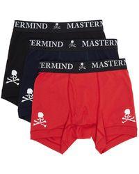 MASTERMIND WORLD - マルチカラー ロゴ ボクサー ブリーフ 3 枚セット - Lyst