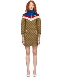 Gucci - Robe multicolore GG Supreme - Lyst