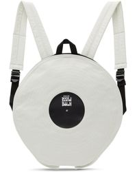 Homme Plissé Issey Miyake Gray Lp Backpack