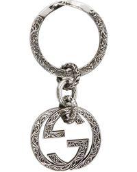Gucci - Porte-clés double G - Lyst