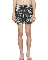 Ksubi Black Troppo Resort Swim Shorts - Multicolour