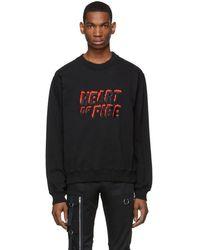 Resort Corps Black Heart Of Fire Sweatshirt