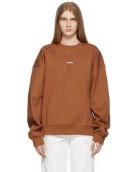 ADER error - ブラウン スウェットシャツ - Lyst