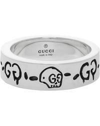 Gucci Ghost Ring - Metallic