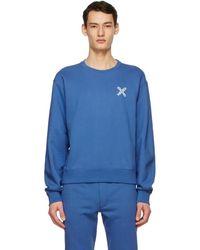 KENZO - ブルー Sport Little X スウェットシャツ - Lyst