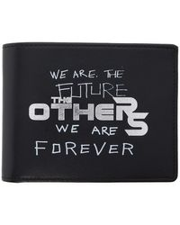 Raf Simons Black The Others Classic Wallet