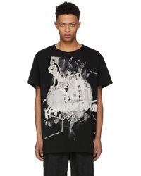 Yohji Yamamoto - Black Pigment Discharge T-shirt - Lyst