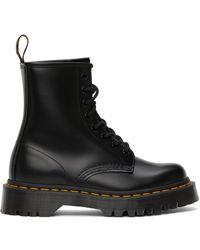 Dr. Martens - ブラック 1460 Bex ブーツ - Lyst