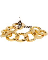 Jacquemus Gold Le Bracelet Ble Bracelet - Metallic