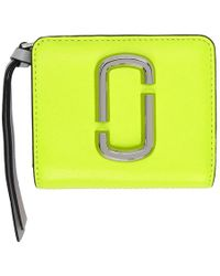 Marc Jacobs - Yellow Mini Compact Wallet - Lyst