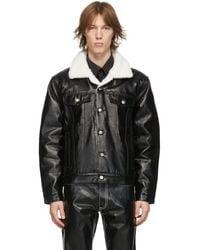 Eytys Black Buck Pile Jacket