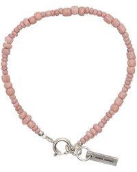 Isabel Marant ピンク ビーズ ブレスレット