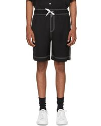 Hope Black Van Shorts