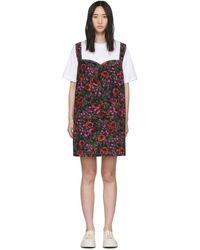 Marni Illusion Tシャツドレス - マルチカラー