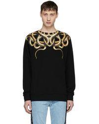Marcelo Burlon Black Snake Sweatshirt