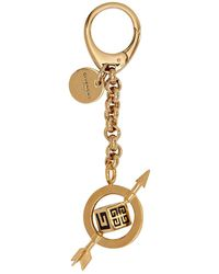 Givenchy Gold G And Arrow Charm - Metallic