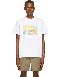 CASABLANCA White Island View T-shirt