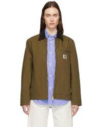 Carhartt WIP Brown Detroit Jacket