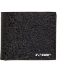 Burberry ブラック International バイフォールド コイン ウォレット