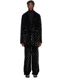 Balenciaga ブラック パジャマ ジャケット