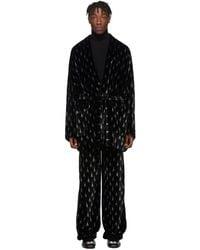 Balenciaga Black Pajama Jacket