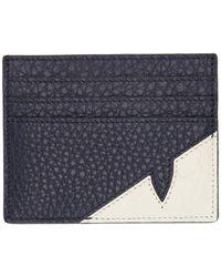 Fendi ブルー クロコ バッグ バグ カード ホルダー