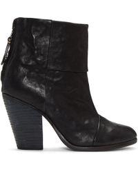 Rag & Bone - Black Classic Newbury Boots - Lyst