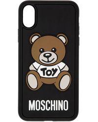 Moschino ブラック Teddy Bear Iphone X ケース