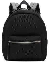 MM6 by Maison Martin Margiela - Black Mesh Backpack - Lyst
