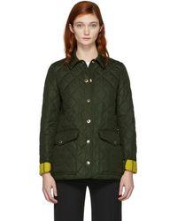 Burberry - Green Westbridge Jacket - Lyst