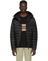 Burberry - Black Down Creslow Jacket - Lyst