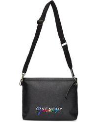 Givenchy Black Signature Crossbody Bag
