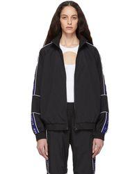 Etudes Studio Black Wimbledon Track Jacket