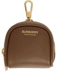 Burberry - ブラウン Cube バッグ チャーム キーチェーン - Lyst