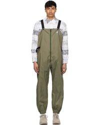 Engineered Garments - K-way エディション カーキ Perry 3.0 オーバーオール - Lyst