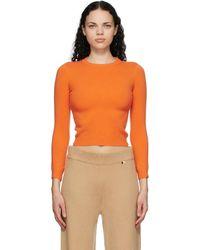 Extreme Cashmere オレンジ カシミア N°98 Kid セーター