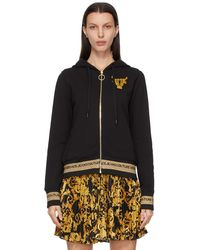 Versace Jeans Couture ブラック Lunar New Year フーディ