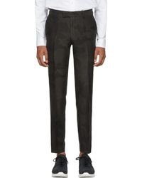 Tiger Of Sweden - Black And Green Camo Gordon Trousers - Lyst
