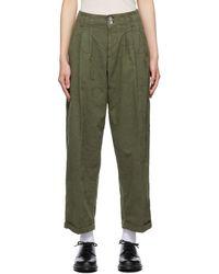 YMC Keaton Trousers - Green