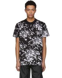 Givenchy | Black Hydrangea T-shirt | Lyst