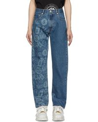 Cmmn Swdn - Indigo Connor Jeans - Lyst