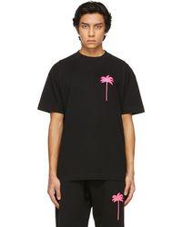 Palm Angels - ブラック Palm Tree T シャツ - Lyst