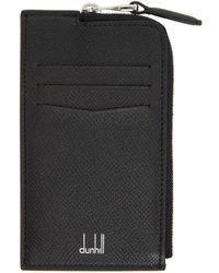 Dunhill - ブラック Cadogan ジップ カード ケース - Lyst