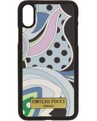 Emilio Pucci - Blue Nisida Iphone X Case - Lyst