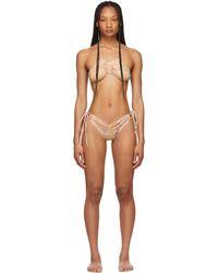 CHARLOTTE KNOWLES Beige Erma Bikini - Natural