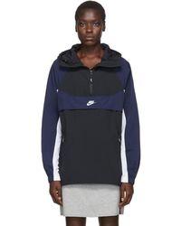 Nike ブラック 97 Re-issue フード ジャケット - マルチカラー