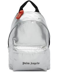 Palm Angels シルバー セキュリティ バックパック - メタリック