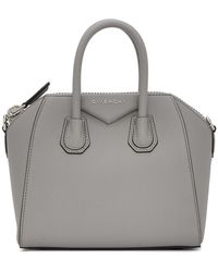 Givenchy Sac gris Mini Antigona